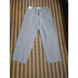 Men's cargo corduroy pants 34x30